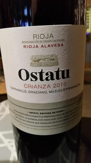 Kuvo Rioja 2010 Crianza 20151002_210245